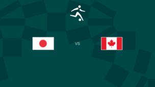 Олимпиада-2020. Футбол (жен). Япония — Канада