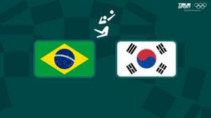 Олимпиада-2020. Волейбол (жен). 1/2 финала. Бразилия — Корея