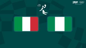 Олимпиада-2020. Баскетбол (муж). Италия — Нигерия