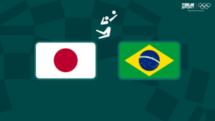 Олимпиада-2020. Волейбол (муж). 1/4 финала. Япония — Бразилия