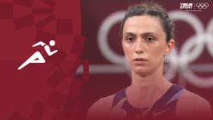 Олимпиада-2020. Легкая атлетика (жен). Прыжки в высоту. Финал. Мария Ласицкене (ОКР). Полное видео