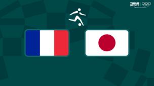 Олимпиада-2020. Футбол (муж). Франция — Япония