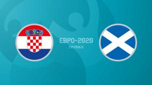 Хорватия — Шотландия. Евро-2020. 3 тур