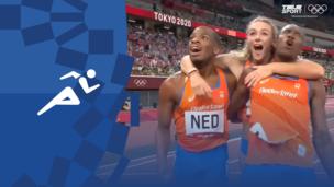 Олимпиада-2020. Легкая атлетика (муж). Эстафета. 4×400 м. Финал. Полное видео