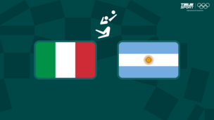 Олимпиада-2020. Волейбол (муж). 1/4 финала. Италия — Аргентина