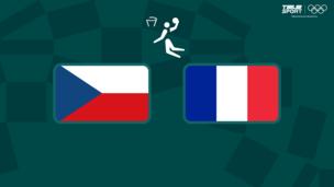 Олимпиада-2020. Баскетбол (муж). Чехия — Франция