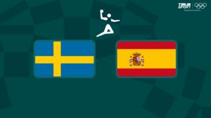 Олимпиада-2020. Гандбол (муж). 1/4 финала. Швеция — Испания