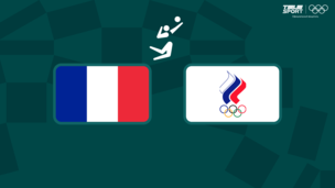 Олимпиада-2020. Волейбол (муж). Финал. Франция — Команда ОКР
