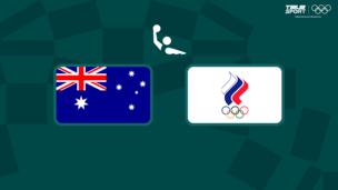 Олимпиада-2020. Водное поло (жен). 1/4 финала. Австралия — Команда ОКР