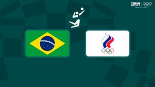 Олимпиада-2020. Волейбол (жен). 1/4 финала. Бразилия — Команда ОКР