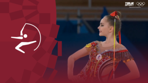 Олимпиада-2020. Художественная гимнастика (жен). Финал. Лента. Арина Аверина (ОКР). Полное видео
