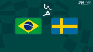 Олимпиада-2020. Гандбол (жен). Бразилия — Швеция
