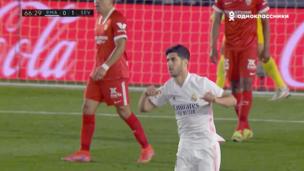 Реал — Севилья. Ла Лига. 1:1 — видео гола Марко Асенсио