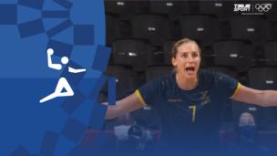 Олимпиада-2020. Гандбол (жен). 1/2 финала. Франция — Швеция. Видео обзор