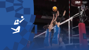 Олимпиада-2020. Волейбол (жен). Матч за 3-е место. Корея — Сербия. Видео моменты