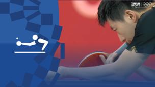 Олимпиада-2020. Настольный теннис (муж). Командное первенство. Матч 3. Финал. Китай — Германия. Видео обзор