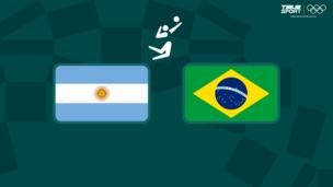 Олимпиада-2020. Волейбол (муж). За третье место. Аргентина — Бразилия