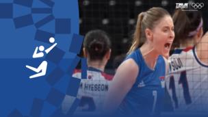 Олимпиада-2020. Волейбол (жен). Матч за 3-е место. Корея — Сербия. Видео обзор