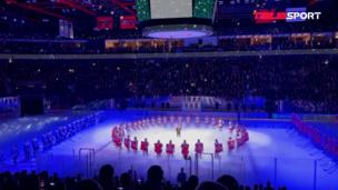 «Локомотив» сыграл в хоккей 7 сентября впервые за 10 лет с момента катастрофы. Памятная церемония