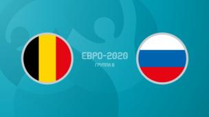 Бельгия — Россия. Евро-2020. 1 тур