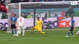 Италия — Англия. Евро-2020. 0:1 — видео гола Люка Шоу