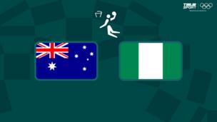 Олимпиада-2020. Баскетбол (муж). Австралия — Нигерия