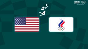 Олимпиада-2020. Волейбол (муж). США — Команда ОКР