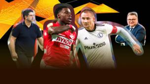 «Спартак» — «Легия». Лига Европы в прямом эфире на Telesport! Как это было