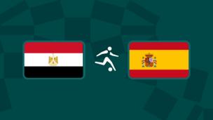 Олимпиада-2020. Футбол (муж). Египет — Испания