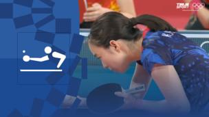 Олимпиада-2020. Настольный теннис (жен). Командное первенство. Матч 1. Финал. Китай — Япония. Видео обзор