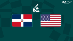 Олимпиада-2020. Бейсбол (муж). Доминиканская Республика — США