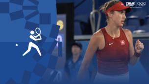 Олимпиада-2020. Теннис (жен). Финал. Белинда Бенчич (Швейцария) — Маркета Вондроушова (Чехия). Видео обзор