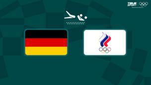 Олимпиада-2020. Пляжный волейбол (муж). 1/4 финала. Германия — Команда ОКР