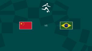 Олимпиада-2020. Футбол (жен). Китай — Бразилия