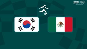 Олимпиада-2020. Футбол (муж). 1/4 финала. Южная Корея — Мексика