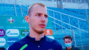 Интервью защитника сборной России Романа Евгеньева о внезапном возвращении в команду и борьбе за выход в плей-офф Евро-2020