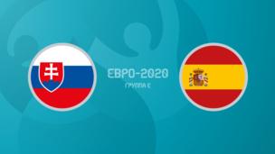 Словакия — Испания. Евро-2020. 3 тур