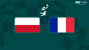 Олимпиада-2020. Волейбол (муж). 1/4 финала. Польша — Франция