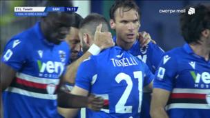 Дженоа — Сампдория. Серия А. 1:1 — видео гола Лоренцо Тонелли
