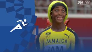 Олимпиада-2020. Легкая атлетика (жен). Эстафета. 4×100 м. Финал. Полное видео