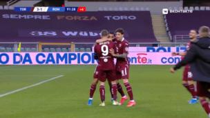 Торино — Рома. Серия А. 3:1 — видео гола Томаса Ринкона