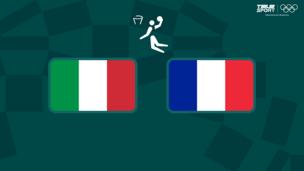 Олимпиада-2020. Баскетбол (муж). 1/4 финала. Италия — Франция