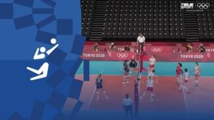 Олимпиада-2020. Волейбол (жен). 1/2 финала. Сербия — США. Видео обзор