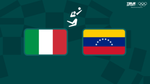 Олимпиада-2020. Волейбол (муж). Италия — Венесуэла