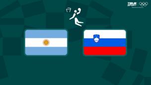 Олимпиада-2020. Баскетбол (муж). Аргентина — Словения