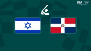 Олимпиада-2020. Бейсбол (муж). Израиль — Доминиканская республика