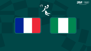 Олимпиада-2020. Баскетбол (жен). Франция — Нигерия