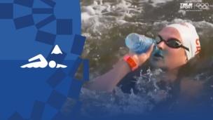 Олимпиада-2020. Плавание (жен). Открытая вода 10 км. Видео обзор