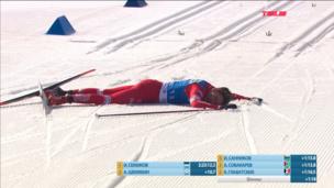 Ожесточенная борьба за бронзу марафона между Собакаревым и Санниковым