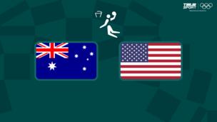 Олимпиада-2020. Баскетбол (жен). 1/4 финала. Австралия — США